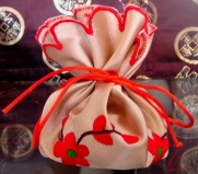 Red Flowers Sachet $8 (filling not included)